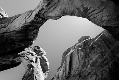 Double Arch detail, Arches National Park, Utah