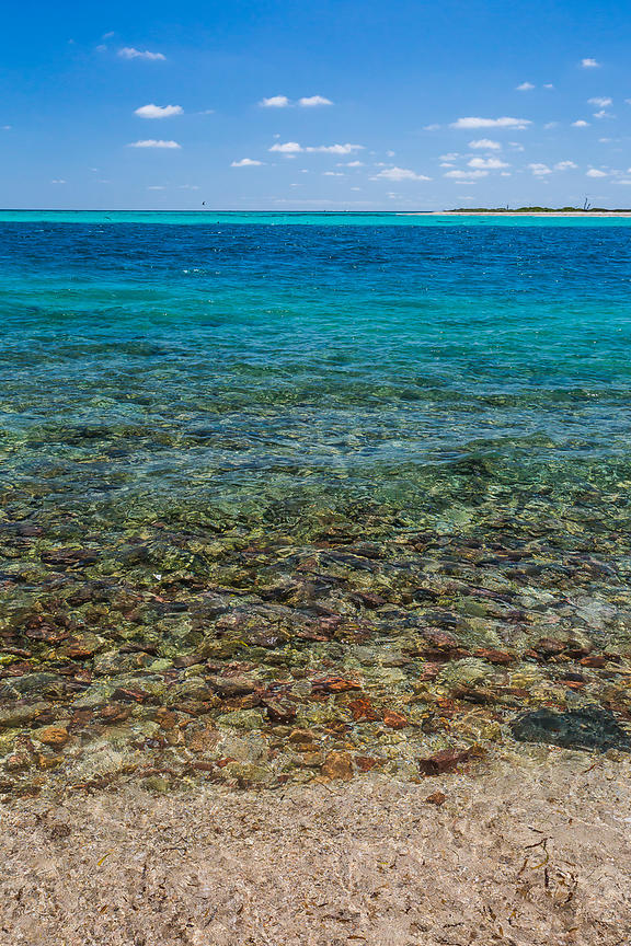 Aquamarine Waters in Dry Tortugas National Park
