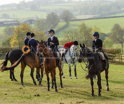 Abbie Weatherstone, Boogie Machin, Cottesmore Hunt Opening Meet 2018