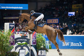 LONGINES FEI World Cup™ Jumping 2017/2018 - Grand Prix of Stuttgart presented by Mercedes-Benz, WALTER solar .and BW-Bank - S...