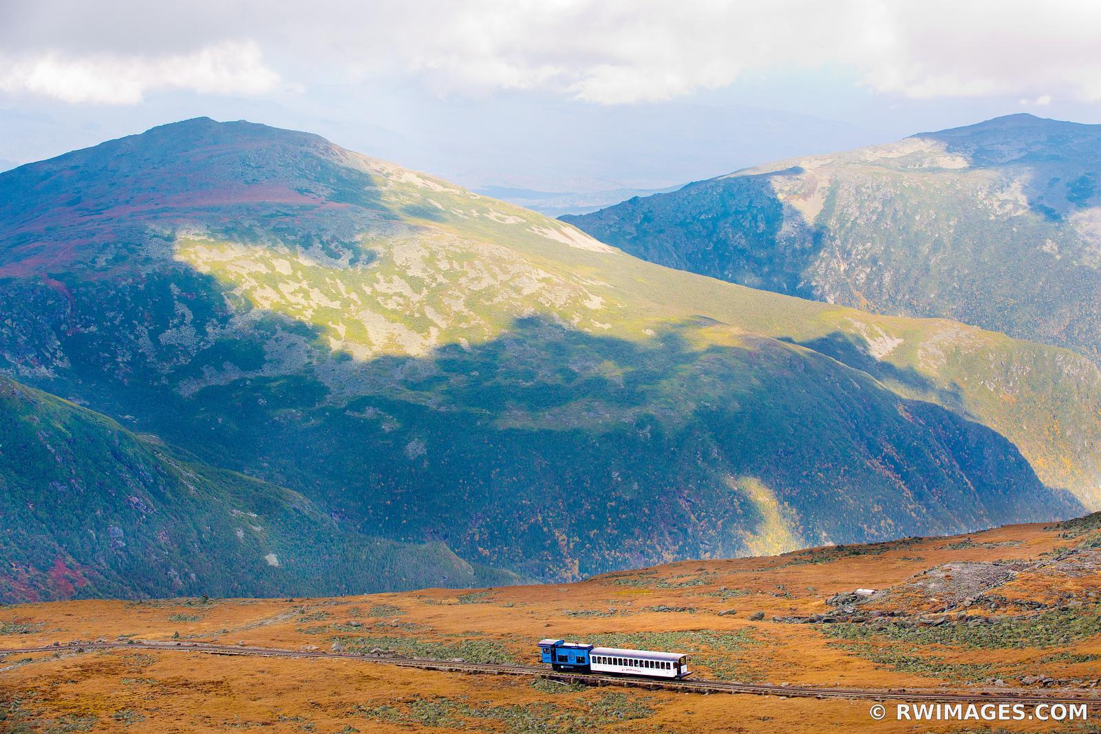 Framed Photo Print Of Mount Washington Cog Railway White Mountains