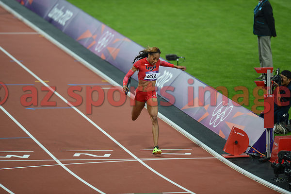 4x400 (USA) Relay Team, Sanya Richards-Ross (USA)