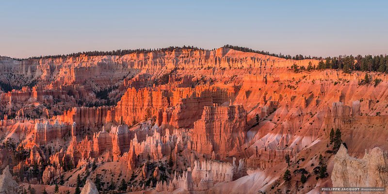 Sunset in Brice Canyon (detail) - Utah