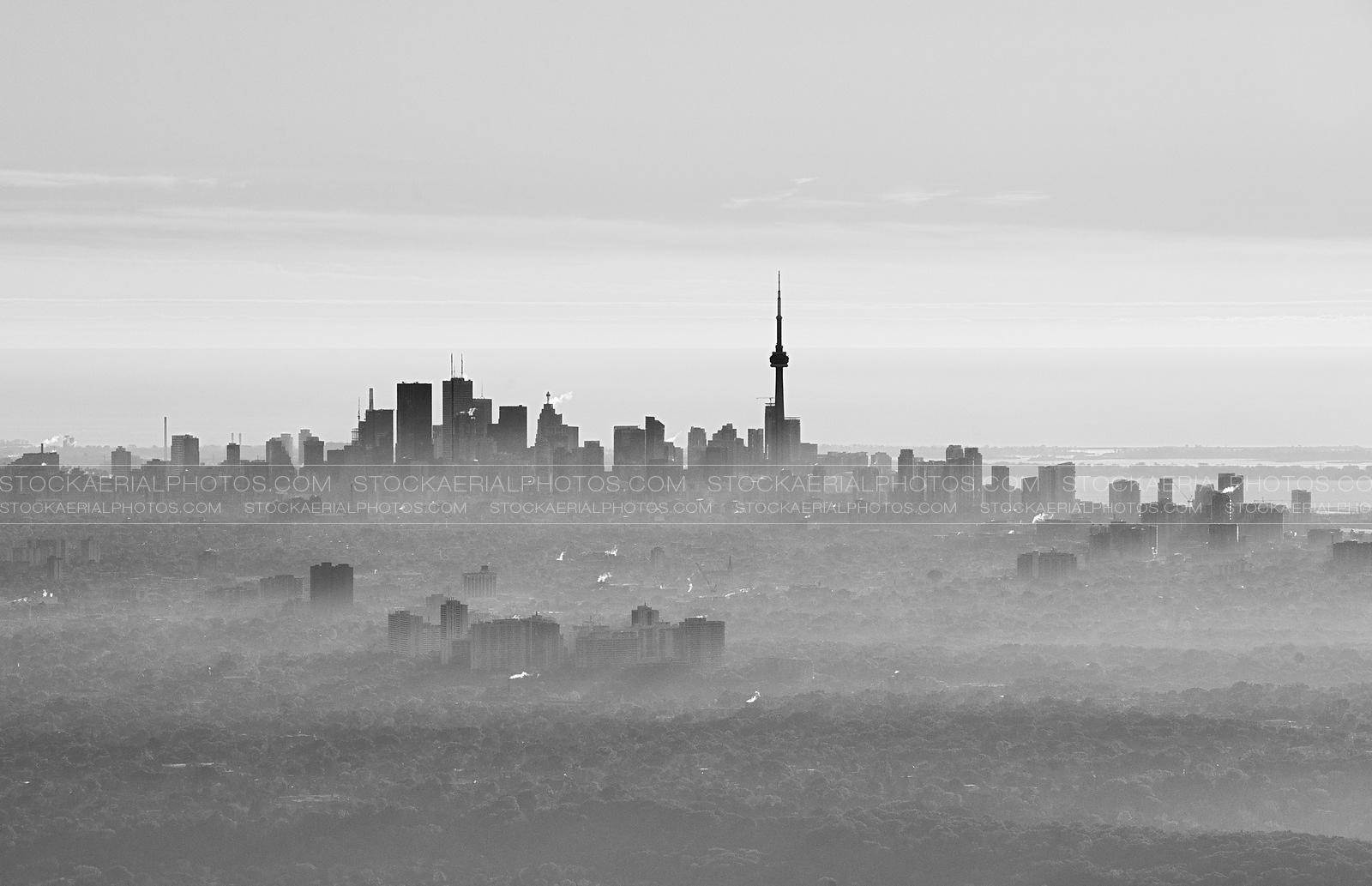 Toronto Skyline 2014 - Black and White