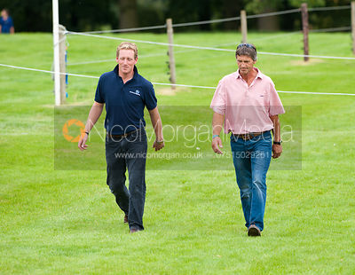Oliver Townend and Andrew Nicholson - Burghley horse Trials 2011