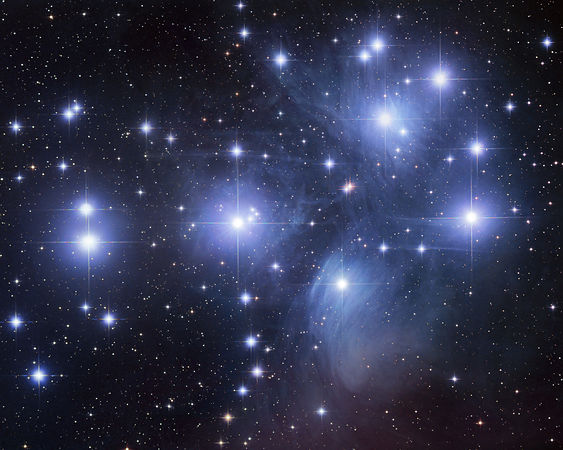 Amas Ouvert : M45 (The Pleiades)