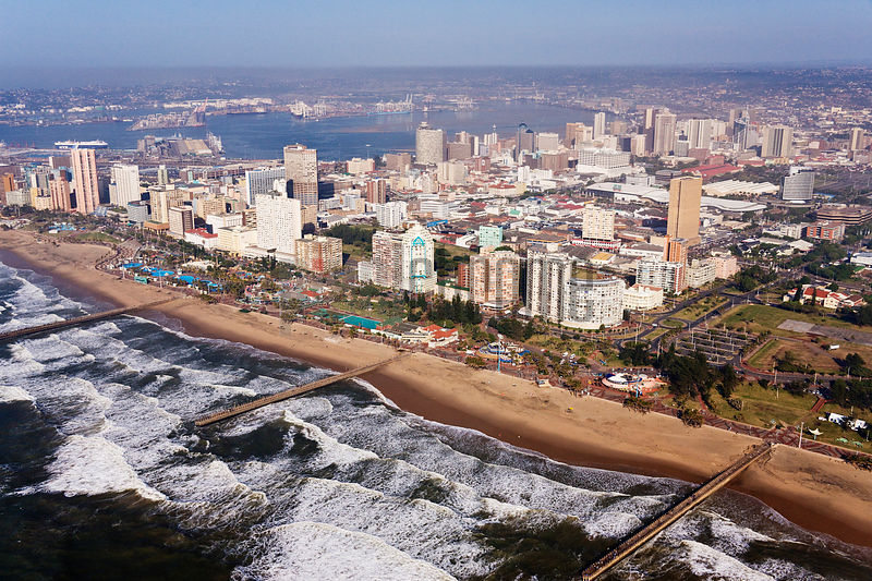 The Golden Mile Beachfront Hotels, Durban, Kwazulu Natal, South Africa