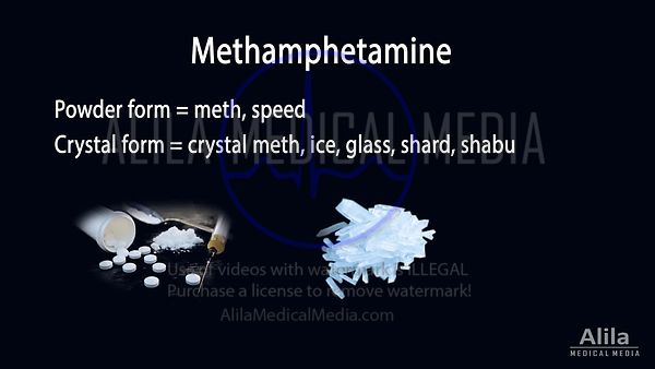 Methamphetamine (meth) NARRATED animation