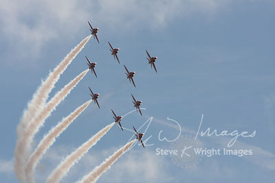 The Red Arrows - Hull, East Yorkshire, UK (Sep. 2009)