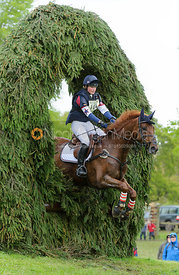 Emily Llewellyn, GREENLAWN SKY HIGH - Cross Country phase, Mitsubishi Motors Badminton Horse Trials 2014