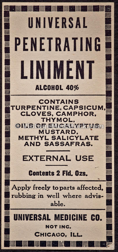 VintageMedStock | Pharmaceutical Label
