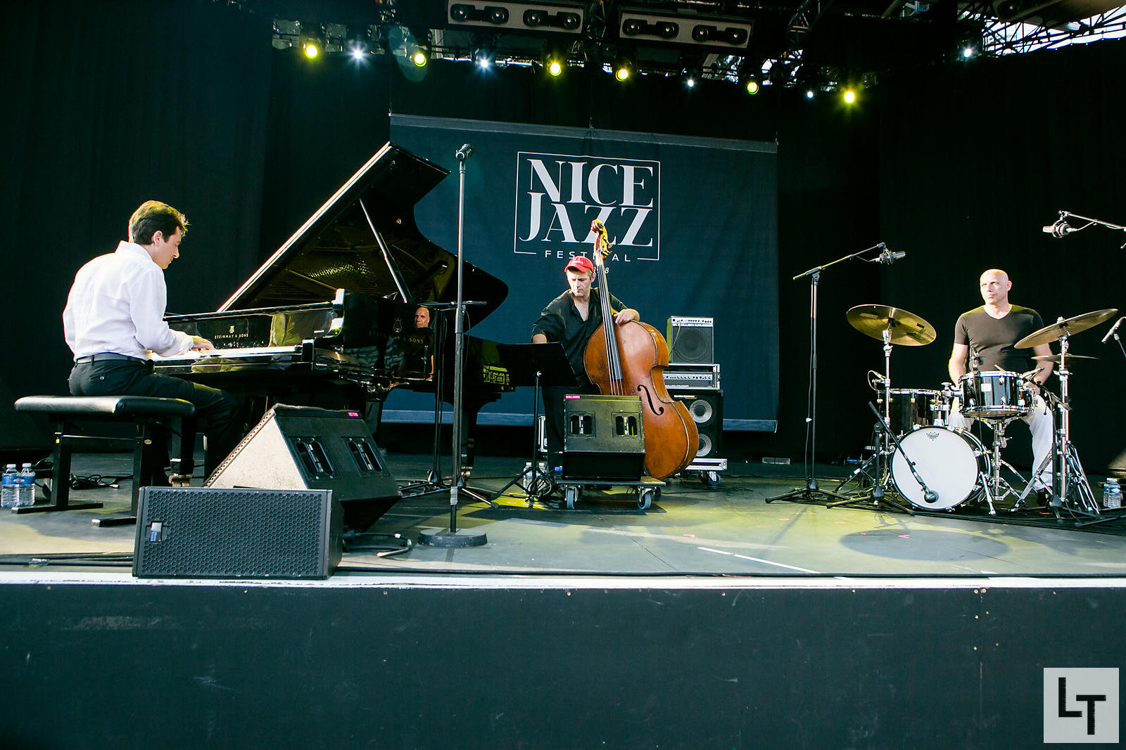 Fred d'Oelsnitz Trio, Nice Jazz Festival le 7 Juillet 2015