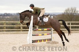 West Wilts Show Jumping for Eventer's Series, Outside, Friday 19th February 2016.