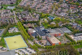 Barneveld - Luchtfoto Johannes Fontanus College