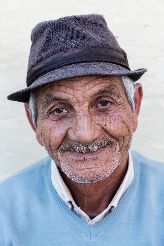 Portrait of a Man in the Old Medina