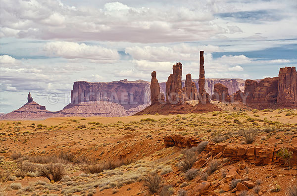 Monument Valley 2- Navajo Nation On The Arizona/Utah Border