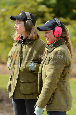 Emilia Broadbent, Blythe Burkhart - Varsity Clay Pigeon Shooting, April 2017