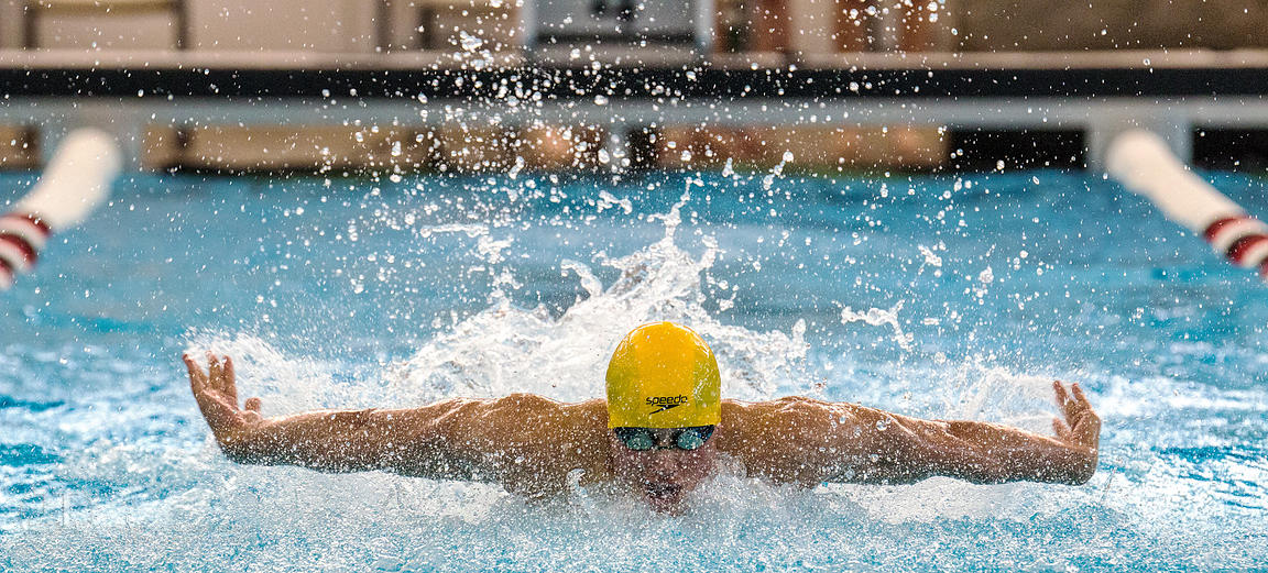 P-C - Boys Swimming, Districts, Feb 7, 2015
