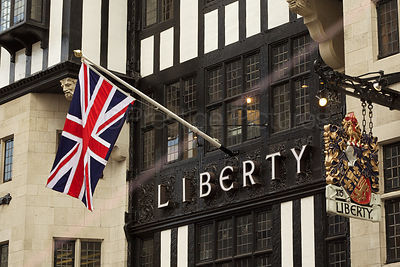 Union Jack Flag at the Liberty Department Store