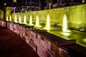 Romare Bearden Park Fountain in Charlotte NC