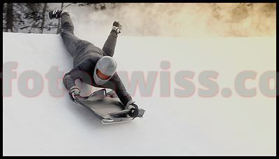 Alexander Knapp-Voight in Cresta Run of Saint Moritz Foto