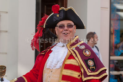 Anthony Church -  former Banbury Town Crier who resigned after admitting fabricating his military career