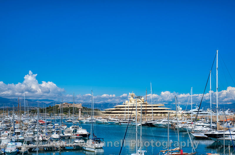 Dilbar in Antibes marina