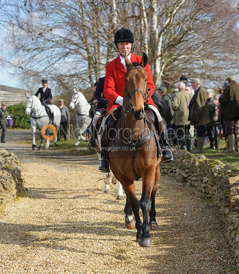 The Cottesmore Hunt at Toft 3/3