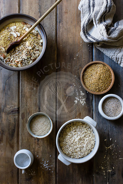 Cooking of a Gluten-Free Vegan Nut and Seed Bread