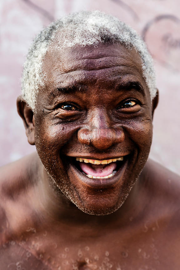 Portrait of a Retired Cuban Boxer