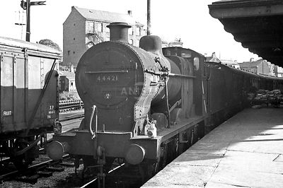 Steam loco Fowler 4F 44421 Leicester London Road