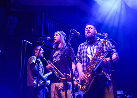 music photography of the Askultura  at Washington DC's 9:30 Club