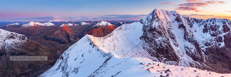Ben Nevis and the Carn Mor Dearg arête, Scotland