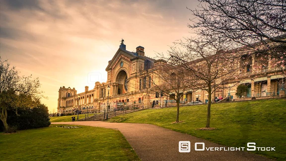 Time Lapse Alexandra Palace Historic Entertainment Complex London England