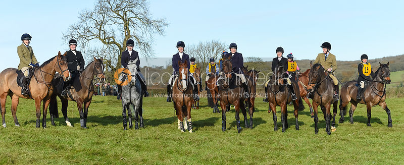 Emily-Rose Perez-Fragero, Caroline Harrison, Helen Lovegrove, Ursula Moore, Charlotte Wright, Tom Jonason - The Melton Hunt C...