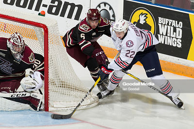 Oshawa Generals vs Peterborough Petes on October 14, 2016