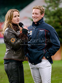 Alice Fox-Pitt interviews Express Eventing winner Oliver Townend