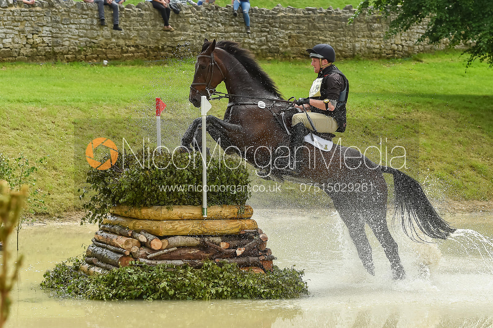 Nicholas Lucey and PROUD COURAGE, Equitrek Bramham Horse Trials 2018