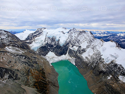 The Lake of the Hanging Glaciers Purcell Mountains BC Canada