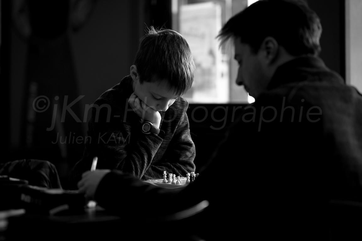 Street Photo - Father and son...take time