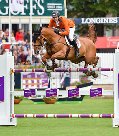 Michel Hendrix and BAILEYS - FEI Nations Cup, Dublin Horse Show 2017