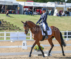 Dani Evans takes the lead after dressage in the CCI 1*