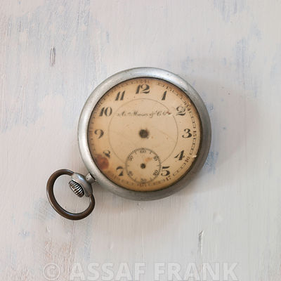 Old-fashioned pocket watch