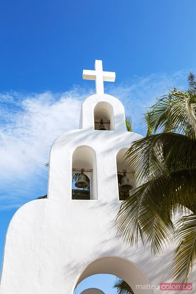 Nuestra senora del Carmen church, Playa del Carmen, Mexico