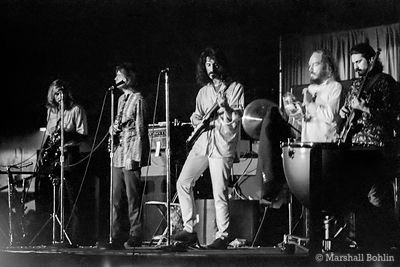 Frank Zappa and The Mothers of Invention in 1968 at the Chicago Coliseum