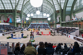 Paris, France, 17.3.2018, Sport, Reitsport, Saut Hermes - PRIX GL Events Bild zeigt ambinete...17/03/18, Paris, France, Sport...