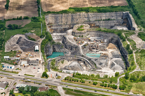 Rock Quarry, Southern Ontario