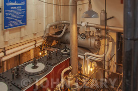 Steam Ship Shieldhall Engine Room.