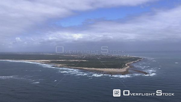 Coastline of Port Elizabeth South Africa
