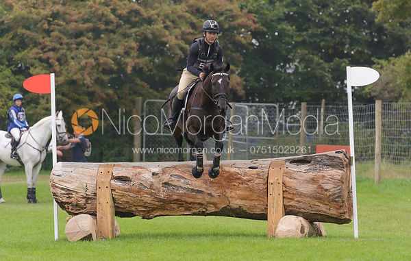 Murray Lamperd and UNDER THE CLOCKS - cross country phase,  Land Rover Burghley Horse Trials, 6th September 2014.